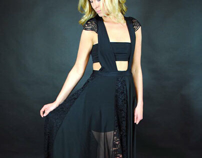 Lacey Evening Dress