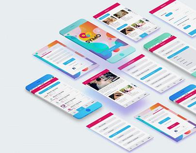 Symo Brand Identity   UI/UX