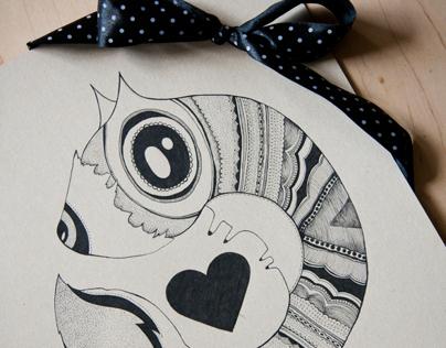 Animal illustrations … 1