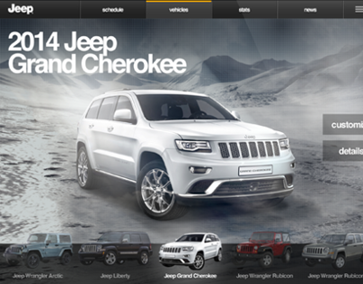 Jeep Sales App