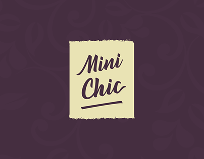 Mini Chic Identity and Packaging