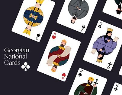 Georgian National Cards