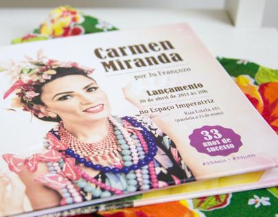 Convite Festa Juliana Françozo - Capa de CD