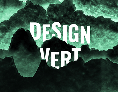 Biennale Design Vert : poster and program
