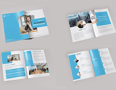 Company Profile , Business Brochure Design