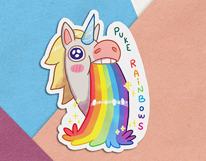 Unicorn Stickers