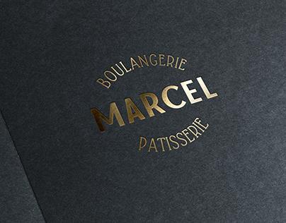 Marcel Boulangerie & Patisserie Logo Design