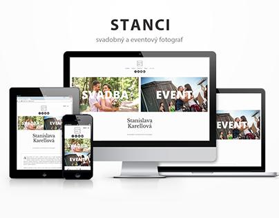 Stanci - website