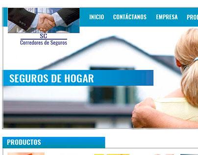 Pagina Web para Aseguradora
