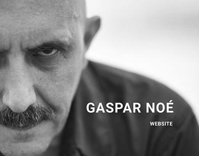 Gaspar Noe WEBSITE