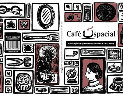 Editorial | Capa para revista Café Espacial #17