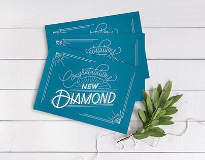 Congratulations New Diamond Card