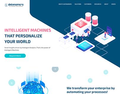 Big-Data Machine Learning Landing Page