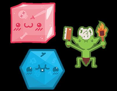 Doodles & Dragons: Sticker Set!