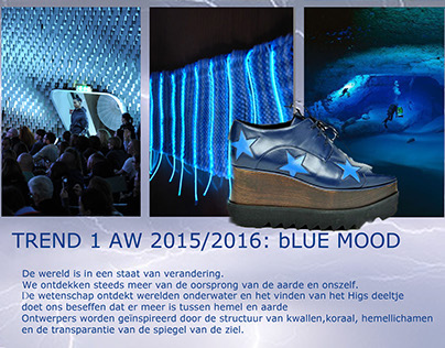 Blue Mood AW 2015/2016 womenswear