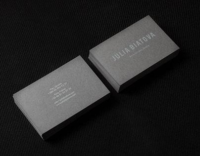 JULIA BIATOVA brand book