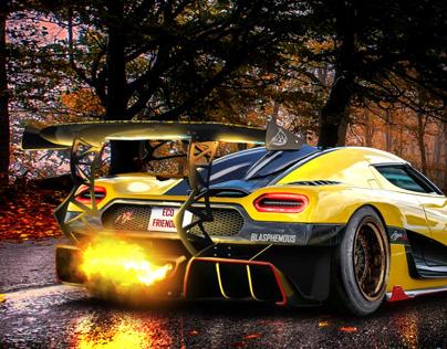 Blasphemous Agera RS