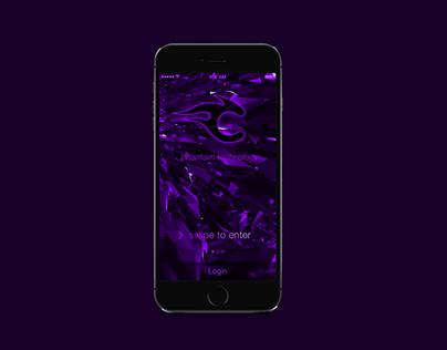Cinder ios app Ui Design