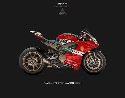 "Ducati Panigale V4 ""BYS1"" Livery"
