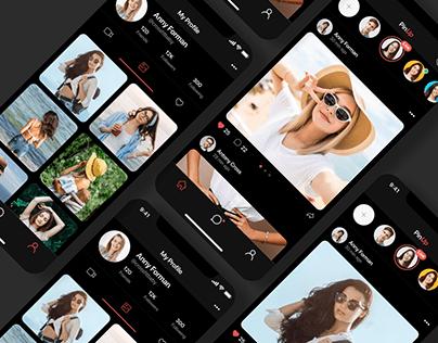 Social App UI/UX Design