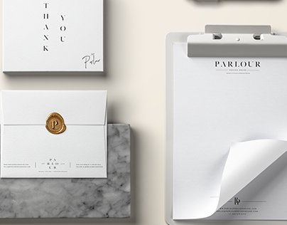 Parlour Design House Brand Identity