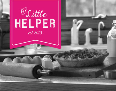 'My little Helper' baking utensils