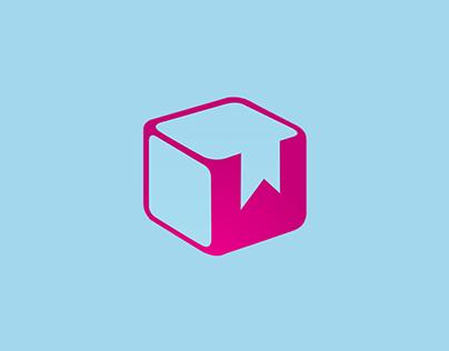 Simple Cube Logo / Vector