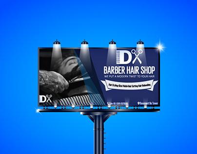 Hair Barber BillBoard