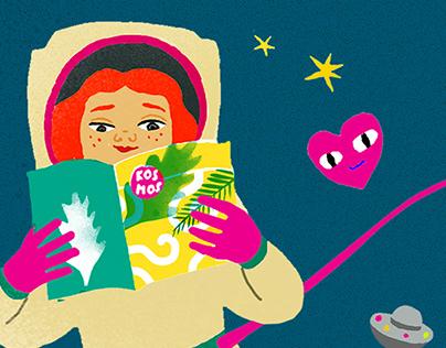 Kosmos dla dziewczynek