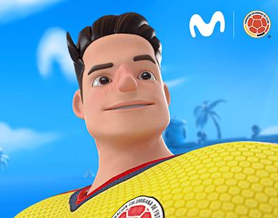 Movistar Official Sponsor Colombian National Team