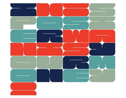 Sungita Typeface In Use