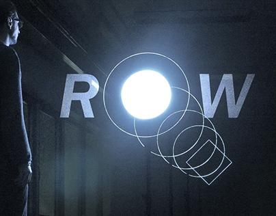 ROW holographic audiovisual installation