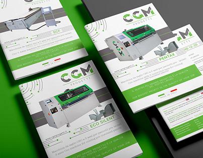 CGM PROGETTI - Brand Identity - (Restyling)