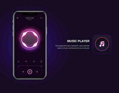 Music Player UI - Mobile App