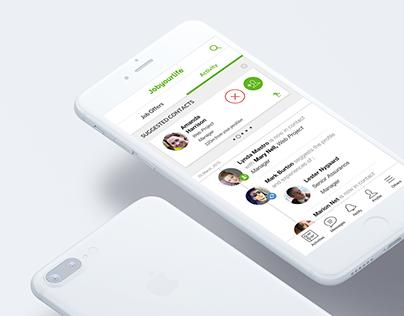 Jobyourlife iOS App Ux & Ui
