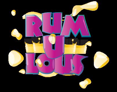 Rum-u-lous Party Flier