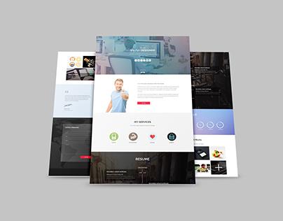 Smart Design Blog Web Template