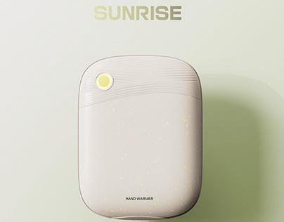"""""""Sunrise"""" hand warmer"""