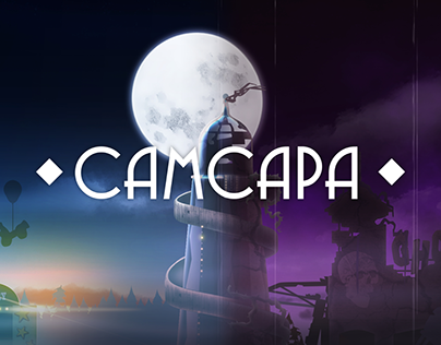 "Russian Interpretation of the ""Samsara"" Game Logo"