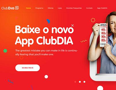 Novo site meu ClubDia