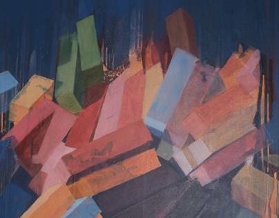 Order vs Chaos Paintings 2012