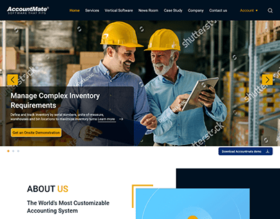 Inventory Management Software Company website