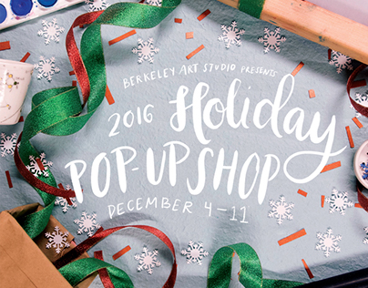 Berkeley Art Studio Holiday Pop-Up Shop