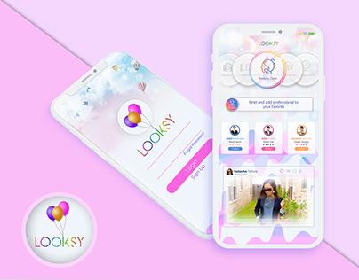 Looksy App UI/UX