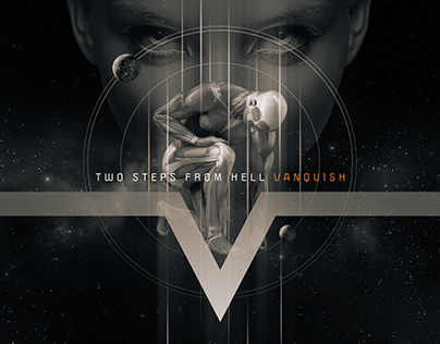 Two Steps From Hell - Vanquish - Poster and Packaging