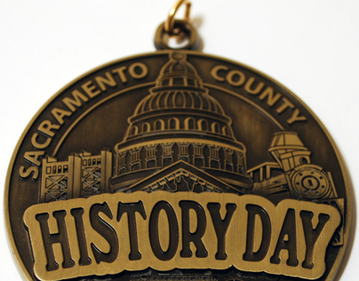 Sacramento County History Day medal