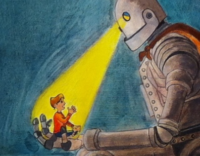 Iron Giant Book Cover