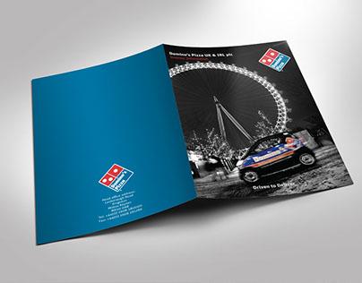 Domino's Pizza Corporate Folder
