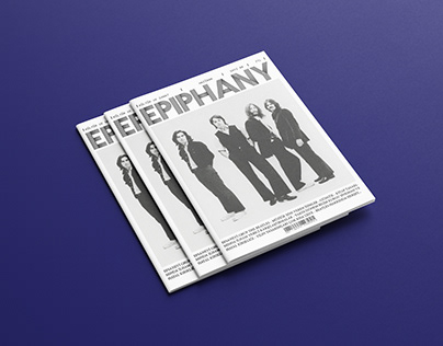 'EPIPHANY' Magazine Design