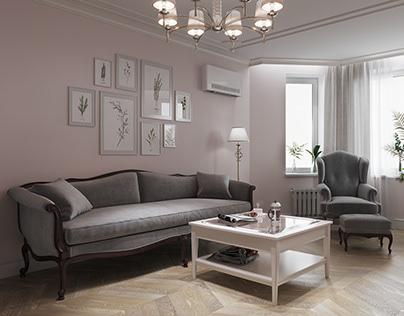 Living room. Designer @margoshamargo
